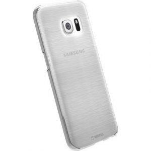 Krusell Boden Takakansi Matkapuhelimelle Samsung Galaxy S7 Läpikuultava Valkoinen