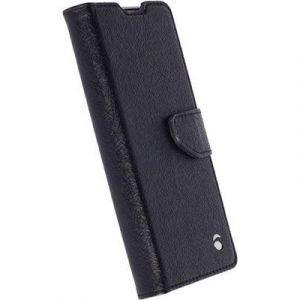 Krusell Borås Foliowallet Läppäkansi Matkapuhelimelle Sony Xperia Xa Musta