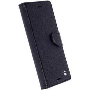 Krusell Borås Foliowallet Sony Xperia X Compact Musta