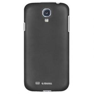 Krusell Colorcover Samsung Galaxy S4 Musta Metallinen