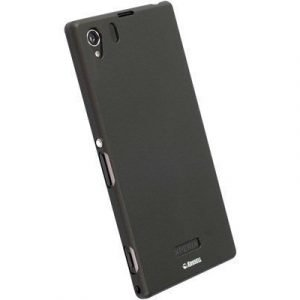 Krusell Colorcover Sony Xperia Z1 Musta Metallinen