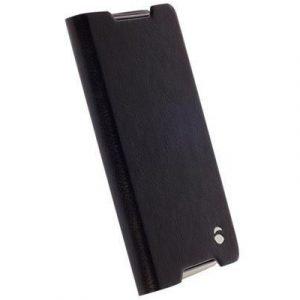 Krusell Ekerö Folioskin Läppäkansi Matkapuhelimelle Sony Xperia Z5 Compact Musta