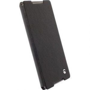 Krusell Ekerö Folioskin Läppäkansi Matkapuhelimelle Sony Xperia Z5 Musta