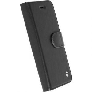 Krusell Ekerö Foliowallet 2in1 Läppäkansi Matkapuhelimelle Iphone 5/5s/se Musta