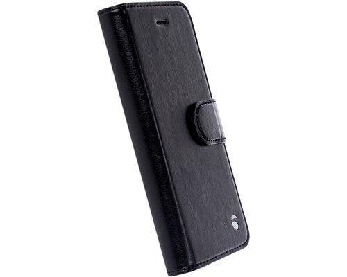Krusell Ekerö Foliowallet 2in1 Läppäkansi Matkapuhelimelle Iphone 7 Musta