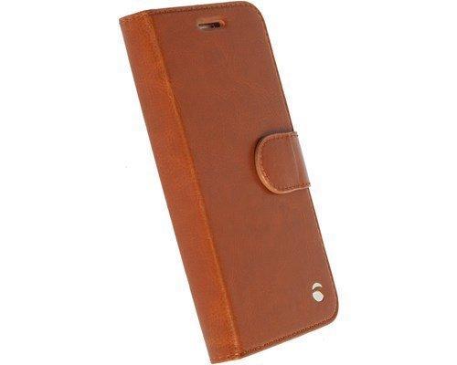 Krusell Ekerö Foliowallet 2in1 Läppäkansi Matkapuhelimelle Sony Xperia X Konjakki