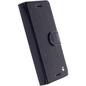 Krusell Ekerö Foliowallet 2in1 Läppäkansi Matkapuhelimelle Sony Xperia X Performance Musta