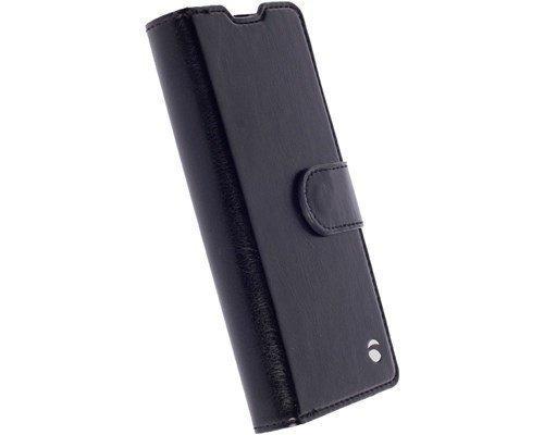 Krusell Ekerö Foliowallet 2in1 Läppäkansi Matkapuhelimelle Sony Xperia Xa Musta