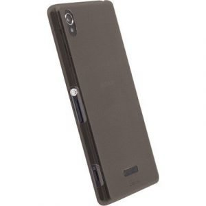 Krusell Frostcover Sony Xperia Z2 Läpikuultava Musta