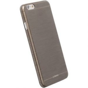 Krusell Frostcover Takakansi Matkapuhelimelle Iphone 6/6s Läpikuultava Musta