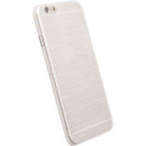 Krusell Frostcover Takakansi Matkapuhelimelle Iphone 6/6s Läpikuultava Valkoinen