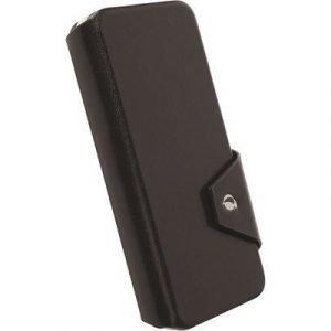 Krusell Kalmar Flipwallet Läppäkansi Matkapuhelimelle Iphone 6/6s Musta