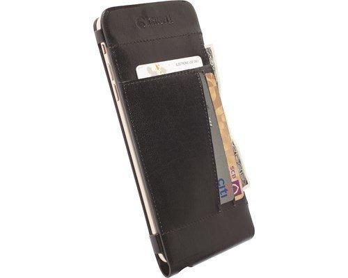 Krusell Kalmar Walletcase Läppäkansi Matkapuhelimelle Iphone 6 Plus Musta