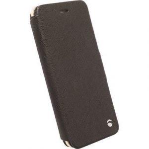 Krusell Malmö Flipcase Läppäkansi Matkapuhelimelle Iphone 6 Plus/6s Plus Musta