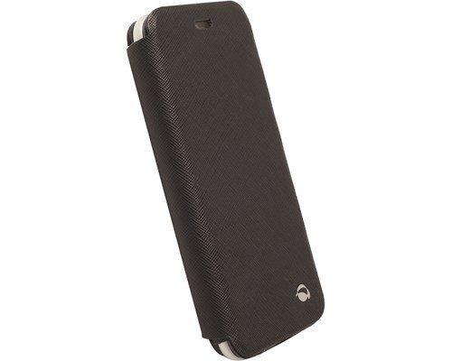 Krusell Malmö Flipcase Stand Läppäkansi Matkapuhelimelle Iphone 6/6s Musta