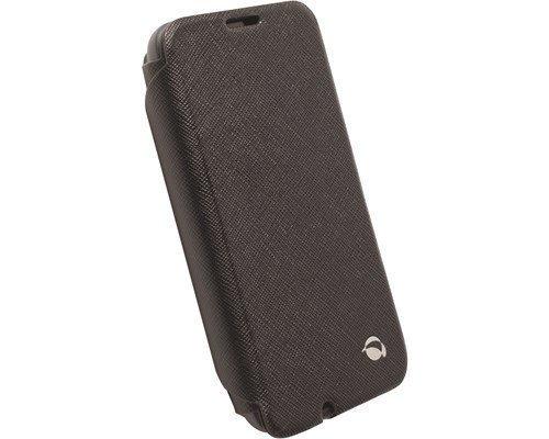 Krusell Malmö Flipcase Stand Wwn Läppäkansi Matkapuhelimelle Nokia Lumia 530 Musta