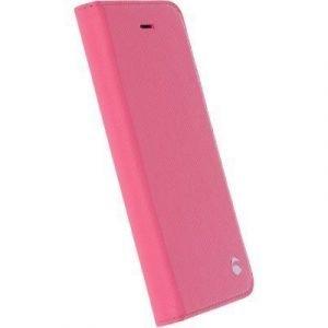 Krusell Malmö Foliocase Läppäkansi Matkapuhelimelle Iphone 7 Vaaleanpunainen