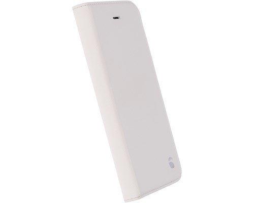 Krusell Malmö Foliocase Läppäkansi Matkapuhelimelle Iphone 7 Valkoinen