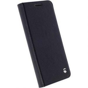 Krusell Malmö Foliocase Läppäkansi Matkapuhelimelle Samsung Galaxy A5 (2016) Musta
