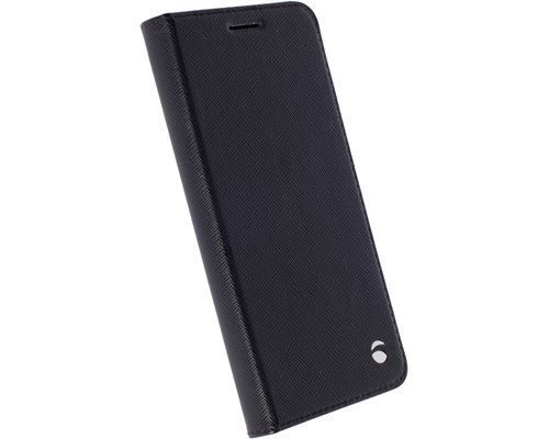 Krusell Malmö Foliocase Läppäkansi Matkapuhelimelle Samsung Galaxy S7 Edge Musta