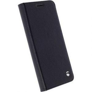 Krusell Malmö Foliocase Läppäkansi Matkapuhelimelle Samsung Galaxy S7 Musta