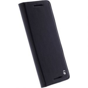 Krusell Malmö Foliocase Motorola Moto G4/g4 Plus Musta