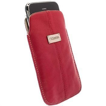 Krusell Pouch Luna L Red / Sand