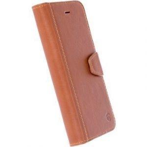 Krusell Sigtuna Foliowallet Iphone 7 Konjakki