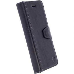 Krusell Sigtuna Foliowallet Läppäkansi Matkapuhelimelle Samsung Galaxy S7 Musta