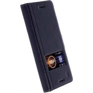 Krusell Sigtuna Smartcase Black Sony Xperia X Sony Xperia X Musta