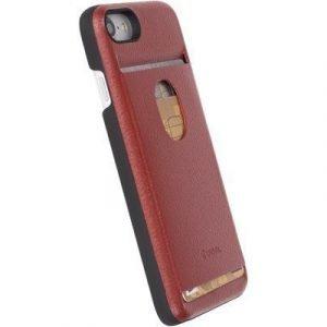 Krusell Timra Walletcover Takakansi Matkapuhelimelle Iphone 7 Punainen
