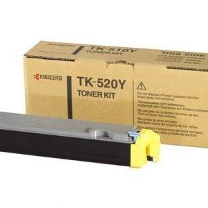 Kyocera Värikasetti Keltainen 4k Tk-520y