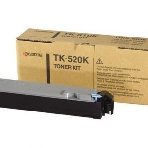 Kyocera Värikasetti Musta 6k Tk-520k