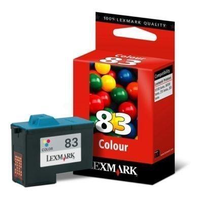 LEXMARK Mustepatruuna 3-väri Nro 83 29ml