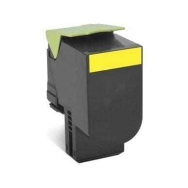 LEXMARK Värikasetti keltainen 4.000 sivua