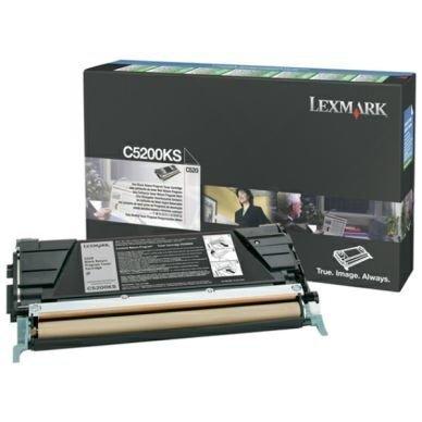 LEXMARK Värikasetti musta 1.500 sivua return