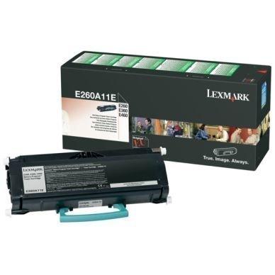 LEXMARK Värikasetti musta 3.500 sivua return
