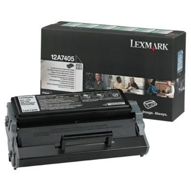 LEXMARK Värikasetti musta 6000 sivua Prebate
