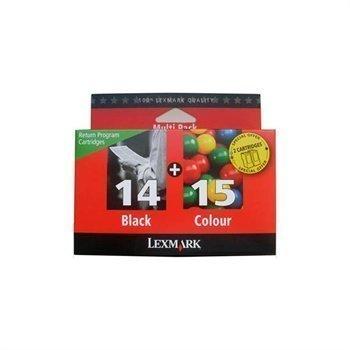 LEXMARK Z 2320 80D2979 Inkjet Cartridge Black Cyan Magenta Yellow