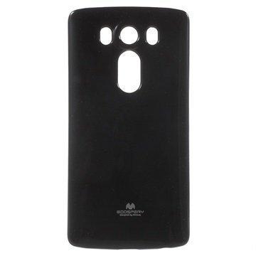 LG V10 Mercury Goospery TPU Kotelo Musta