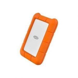 Lacie Rugged 1tb Mobile Drive Usb-c 1tb Oranssi
