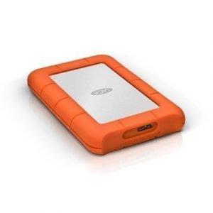 Lacie Rugged Mini 1tb Usb 3.0/2.0 1tb Harmaa Oranssi