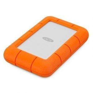 Lacie Rugged Mini 4tb Hopea Oranssi