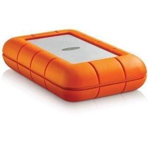 Lacie Rugged Raid Portable 4tb Usb 3.0/thunderbolt 4tb Harmaa Oranssi
