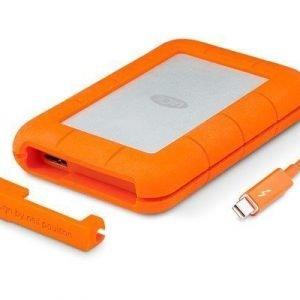 Lacie Rugged Thunderbolt 0.5tb Oranssi Hopea