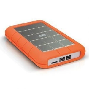 Lacie Rugged Triple 500gb External Usb 3.0 Fw/800 7200rpm 0.5tb Harmaa Oranssi