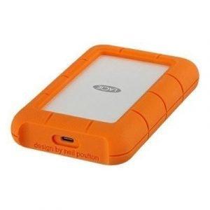 Lacie Rugged Usb-c 4tb Oranssi Hopea