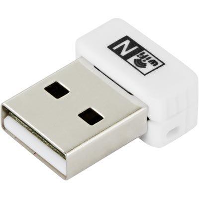 Langaton verkkokortti USB 150Mbps 802.11b/g/n nano valkoinen