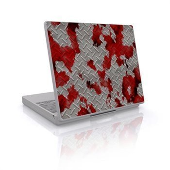 Laptop Skin Accident
