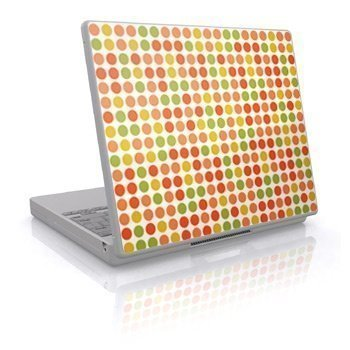 Laptop Skin Autumn Big Dots